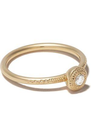 De Beers 18kt Talisman round brilliant diamond ring