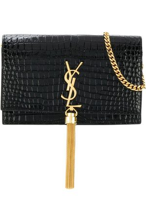 Saint Laurent Kate Monogram tassel bag
