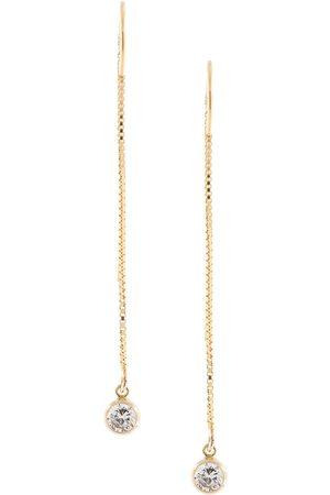 Petite Grand Drop crystal earrings