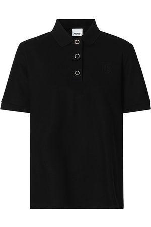 Burberry Senhora Pólos - Monogram motif piqué polo shirt