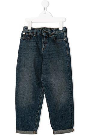 Emporio Armani Menina Retos - Logo straight-leg jeans