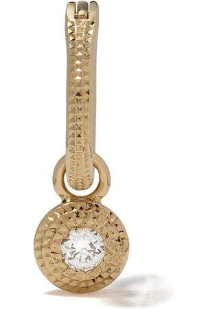 De Beers 18kt Talisman white diamond earring