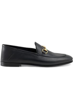 Gucci Senhora Oxford & Moccassins - Brixton Horsebit leather loafers