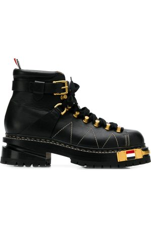 Thom Browne RWB-detail Vitello hiking boots
