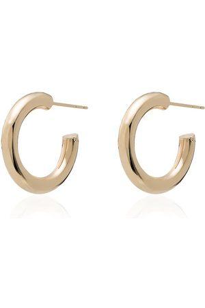 LOREN STEWART Chubby huggie hoop earrings