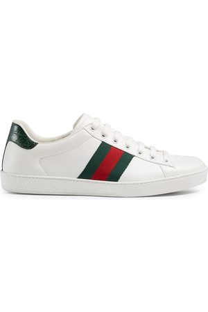 Gucci Homem Ténis - Ace leather sneakers
