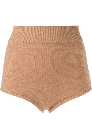 Cashmere In Love Ribbed Mimie shorts