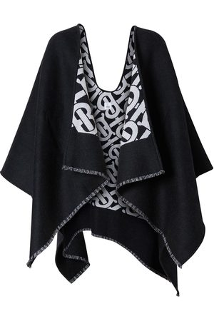 Burberry Monogram jacquard cape