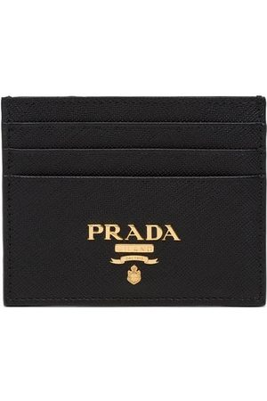 Prada Compact front logo cardholder