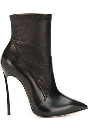 Casadei Senhora Plataformas - Stiletto heel pointed toe boots