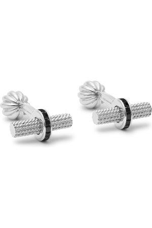 Tom Ford 18-karat White Gold Diamond Cufflinks