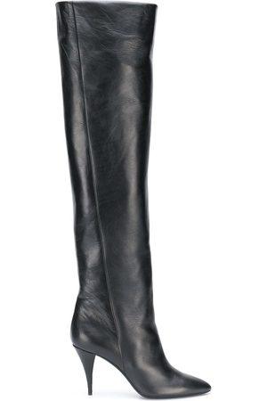 Saint Laurent Senhora Botas de Cano Alto - Kiki 110mm knee-length boots
