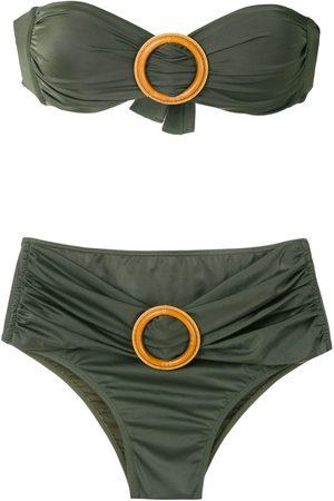 Brigitte Senhora Bikinis - Buckled bandeau bikini set