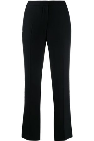 Alexander McQueen Senhora Calças Formal - Cropped cigarette trousers
