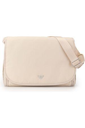 Emporio Armani Menino Malas - Logo plaque shoulder bag