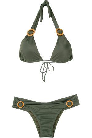 Brigitte Senhora Bikinis - Ring-embellished bikini set