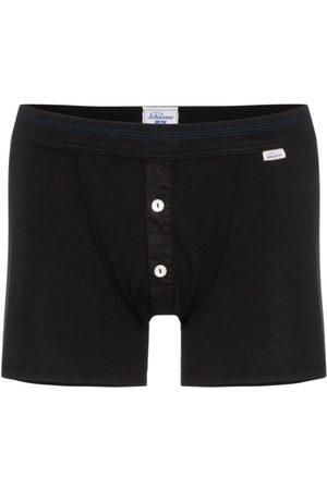 Schiesser Homem Boxers - Karl-Heinz cotton boxer shorts