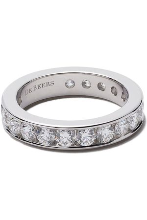 De Beers Channel Set Full diamond eternity band
