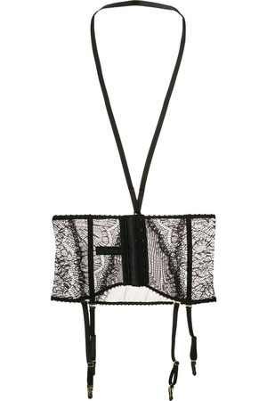 MAISON CLOSE Harnessed lace waist cincher