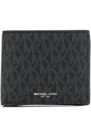 Michael Kors Logo-print foldover wallet