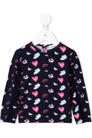 Emporio Armani Bebé Conjuntos - Heart print jersey set