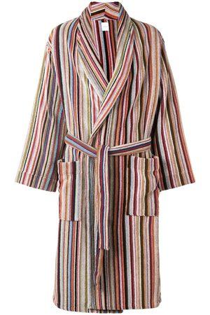 Paul Smith Striped bathrobe