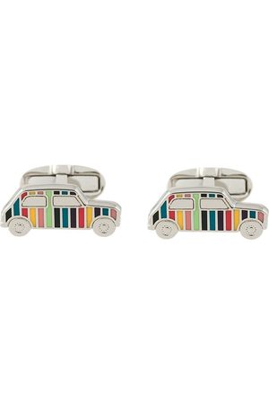 Paul Smith Enamelled car cufflinks