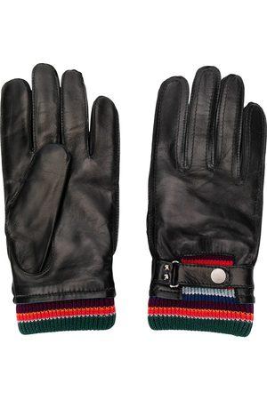 Paul Smith Homem Luvas - Stripe detailed driving gloves
