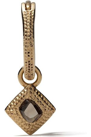 De Beers 18kt Talisman rough diamond earring