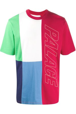 PALACE Flaggin colour block T-shirt