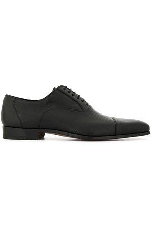 Magnanni Grained lace-up shoes