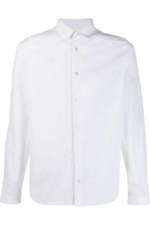 Saint Laurent Peter Pan collar shirt