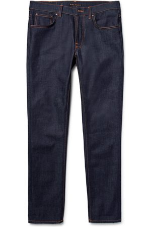 Nudie Homem Slim - Lean Dean Slim-fit Dry Organic Denim Jeans