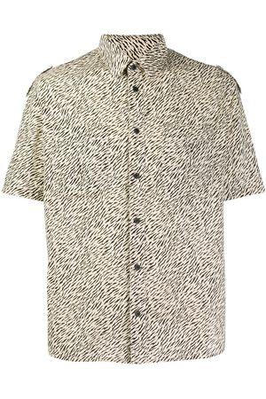 Saint Laurent Zebra print shirt