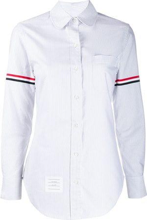 Thom Browne University Stripe Collar Shirt