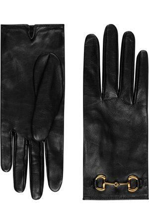 Gucci Senhora Luvas - Horsebit gloves