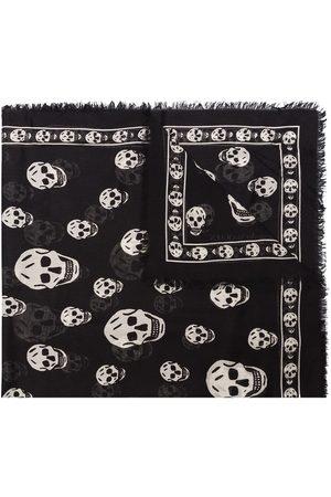 Alexander McQueen Skull print scarf