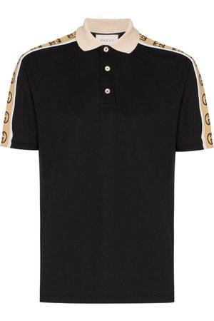 Gucci Polo with Interlocking G stripe
