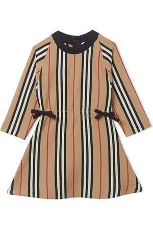 Burberry Icon Stripe midi dress