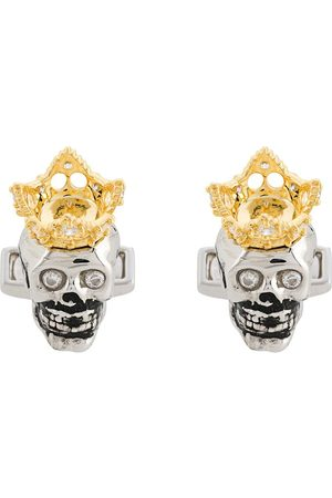 Tateossian King Skull Show Off cufflinks