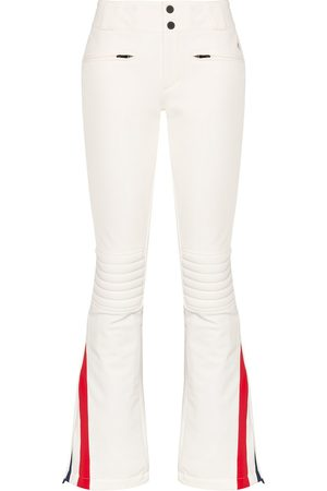 Perfect Moment Flared stripe detail ski trousers