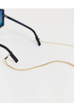 ASOS Sunglasses chain in gold tone