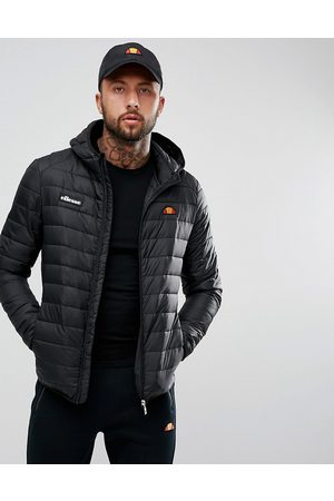 Ellesse Lombardy padded jacket in black
