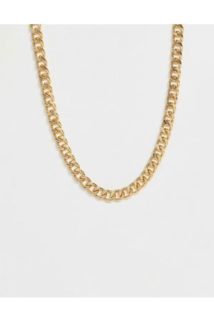 ASOS Short chunky chain in gold tone