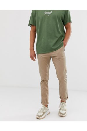 ASOS Slim chinos in stone