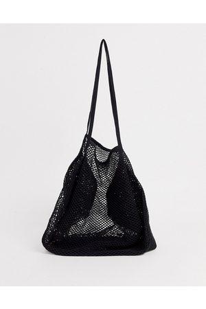 ASOS String shopper-Black