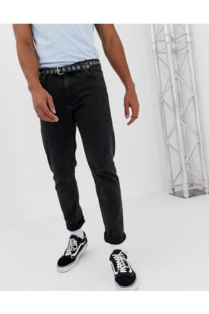 Weekday Sunday relaxed tapered jeans tuned black