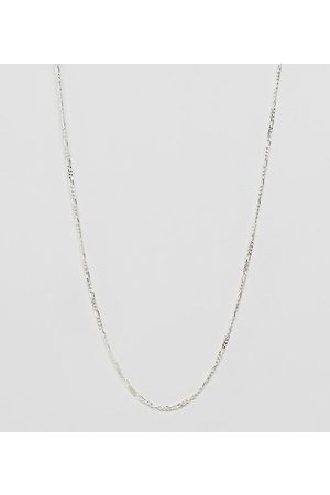 DesignB London Homem Colares - DesignB chain necklace in sterling silver exclusive to asos