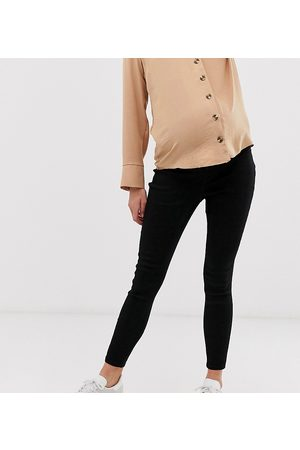 ASOS Maternity ASOS DESIGN Maternity pull on jegging in clean black with under the bump waistband
