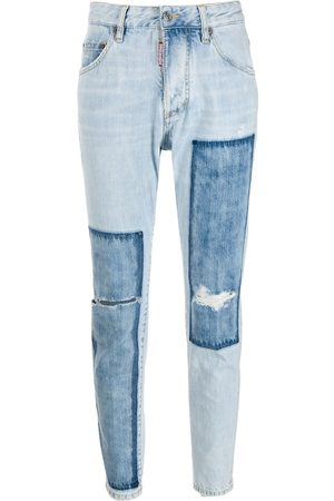 Dsquared2 Two-toned mom style jeans